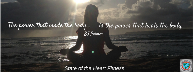 The power that made the body is the power that heals the body.