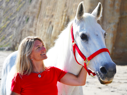 Miss & me on the beach in Santa Barbara for her 30th birthday. May, 2011.  Photo credit: Stacey Whittle